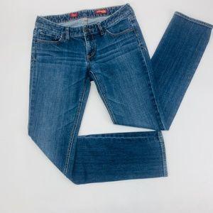 Express Jeans Womens 6 Blue Stella Skinny Leg